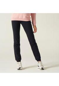 NYAMBA - Spodnie dresowe fitness. Materiał: bawełna, materiał, elastan. Sport: fitness