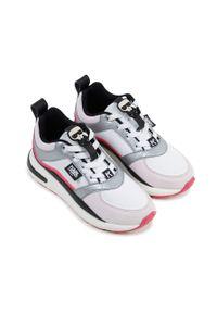Wielokolorowe buty sportowe Karl Lagerfeld z cholewką, na platformie, z okrągłym noskiem