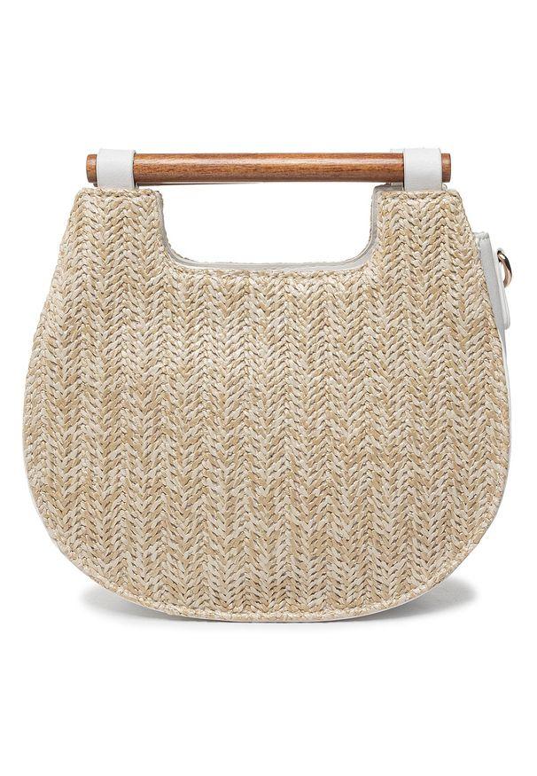 Biała torebka klasyczna Monnari klasyczna