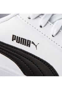 Białe buty sportowe Puma na co dzień, z cholewką
