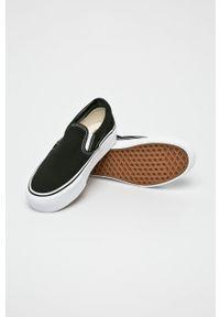 Vans - Tenisówki. Nosek buta: okrągły. Kolor: czarny