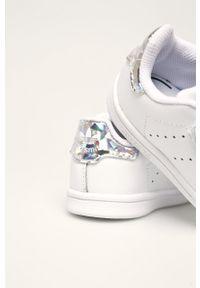 Białe buty sportowe adidas Originals z cholewką, Adidas Stan Smith