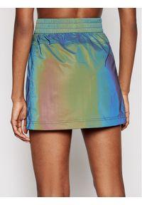 Spódnica mini Calvin Klein Jeans w kolorowe wzory