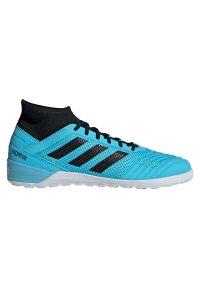 Adidas - Buty męskie do piłki nożnej adidas Predator 19.3 IN F35615. Zapięcie: zamek. Materiał: guma, syntetyk. Szerokość cholewki: normalna. Sport: piłka nożna