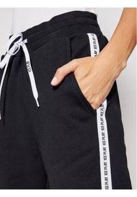 Ice Play Spodnie dresowe 21EU2M0B131P451 Czarny Regular Fit. Kolor: czarny. Materiał: dresówka