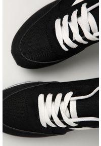 Czarne buty sportowe Answear Lab z cholewką, na sznurówki