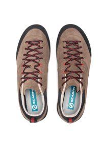 Brązowe buty trekkingowe Scarpa trekkingowe