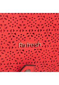 Refresh - Torebka REFRESH - 83375 Rojo. Kolor: czerwony. Materiał: skórzane