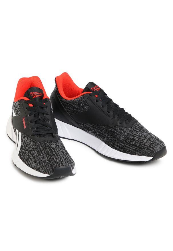 Czarne buty do biegania Reebok z cholewką