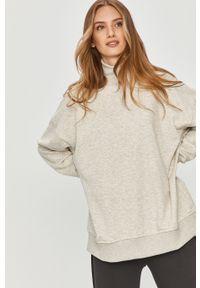 Szara bluza Answear Lab melanż, wakacyjna