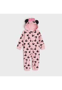 Sinsay - Piżama jednoczęściowa Myszka Minnie - Różowy. Kolor: różowy. Wzór: motyw z bajki