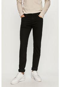 Czarne jeansy Cross Jeans gładkie