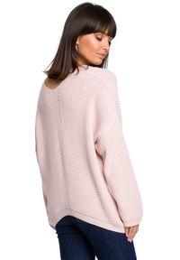 Sweter casualowy, z długim rękawem, na co dzień, długi