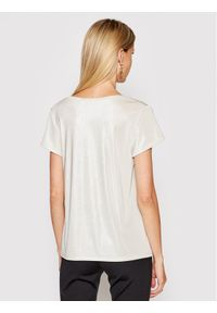 Imperial T-Shirt T531BIB Beżowy Regular Fit. Kolor: beżowy
