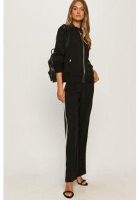 Karl Lagerfeld - Plecak skórzany. Kolor: czarny. Materiał: skóra