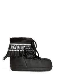 Buty zimowe Moon Boot z cholewką, z aplikacjami
