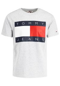 Szary t-shirt Tommy Jeans #6