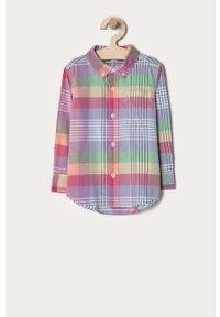 Wielokolorowa koszula GAP na co dzień, casualowa, długa