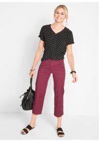 Fioletowe spodnie bonprix