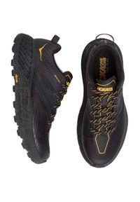 Czarne buty do biegania Hoka One One Gore-Tex, z cholewką