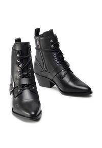 Czarne botki AllSaints