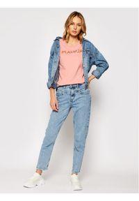 Maloja T-Shirt GatschiM. 30409-1-8317 Różowy Regular Fit. Kolor: różowy