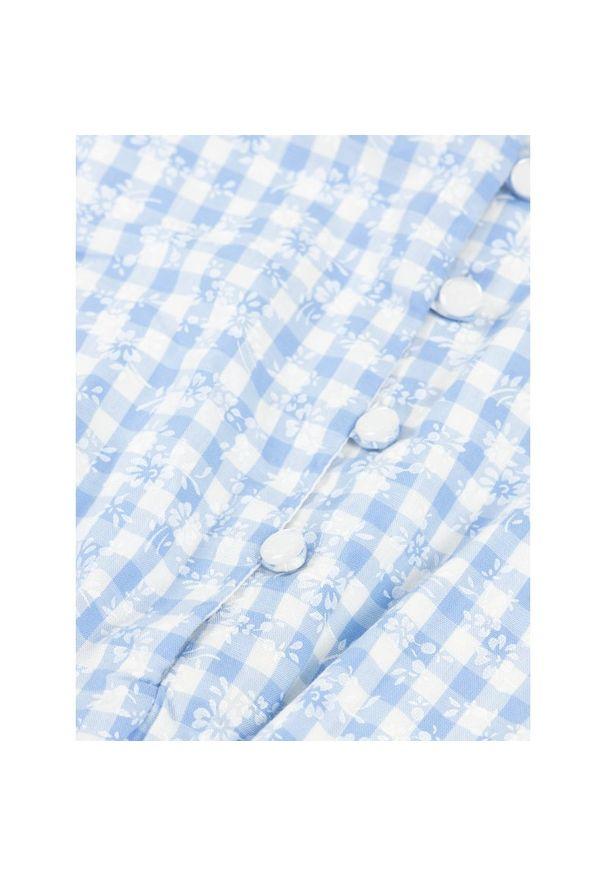 Niebieska sukienka Polo Ralph Lauren casualowa, polo