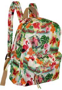 Adleys Piękny plecak damski CB303 Flamingo