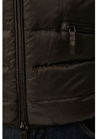 Czarna kurtka Armani Exchange z kapturem, casualowa