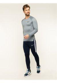 Nike Koszulka techniczna Pro BV5588 Szary Slim Fit. Kolor: szary