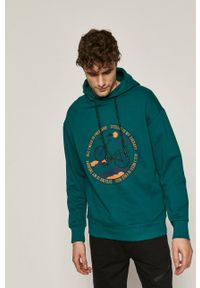 medicine - Medicine - Bluza Retro Cool. Okazja: na co dzień. Kolor: zielony. Wzór: nadruk. Styl: retro