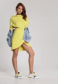 Renee - Jasnożółta Sukienka Aquaneh. Kolor: żółty