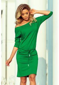 Zielona sukienka Numoco sportowa, sportowa