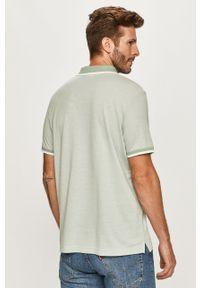 Zielona koszulka polo Calvin Klein polo, krótka