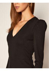 Czarna sukienka dzianinowa Sportmax Code