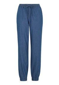 Happy Holly Spodnie do joggingu Mea denim blue female niebieski 44/46. Kolor: niebieski. Materiał: denim