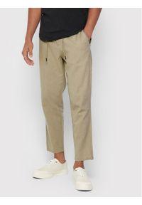 Beżowe spodnie Only & Sons