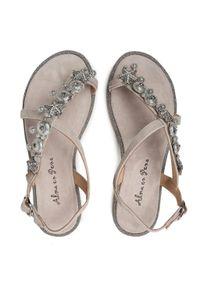 Szare sandały Alma En Pena