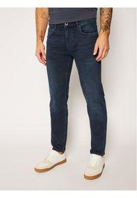 Marc O'Polo Jeansy Regular Fit B21 9088 12032 Granatowy Regular Fit. Kolor: niebieski. Materiał: jeans