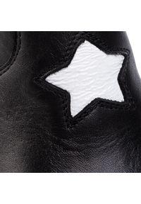 Czarne botki Carinii na obcasie, z cholewką #8