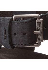 Timberland - Sandały TIMBERLAND - Malibu Waves Ankle TB0A1MR30151 Jet Black. Okazja: na co dzień. Kolor: czarny. Materiał: skóra, zamsz. Styl: casual