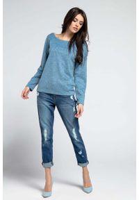 Niebieski sweter oversize Nommo