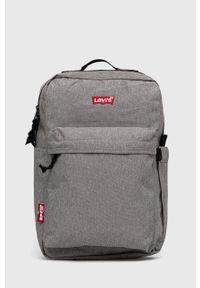 Levi's® - Levi's - Plecak. Kolor: szary. Styl: biznesowy