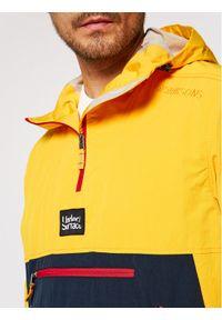 Didriksons Kurtka anorak Vilmer Usx 503654 Żółty Relaxed Fit. Kolor: żółty