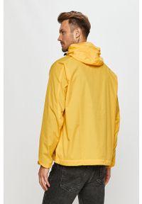Żółta kurtka adidas Originals z kapturem