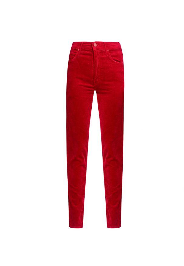 Czerwone spodnie Mother