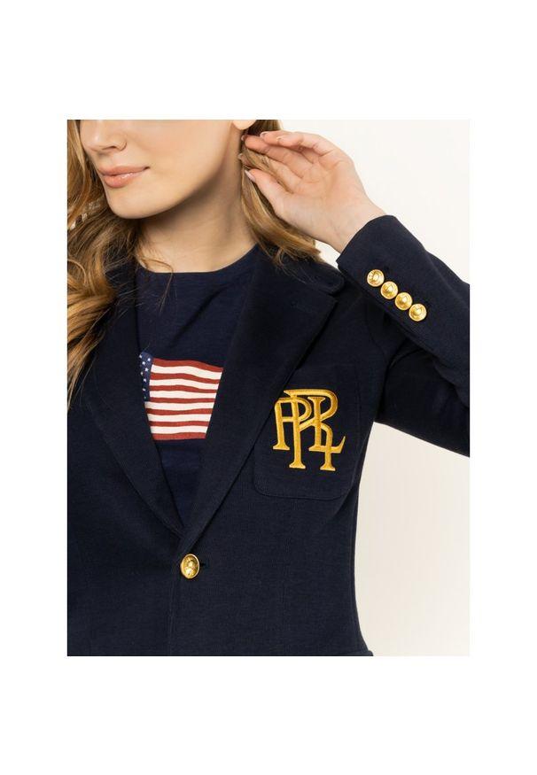Niebieski żakiet Polo Ralph Lauren polo