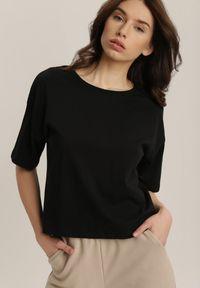 Czarny t-shirt Renee