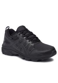 Czarne buty do biegania Asics z cholewką