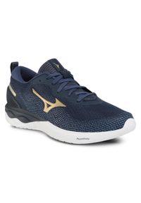 Niebieskie buty do biegania Mizuno Mizuno Wave